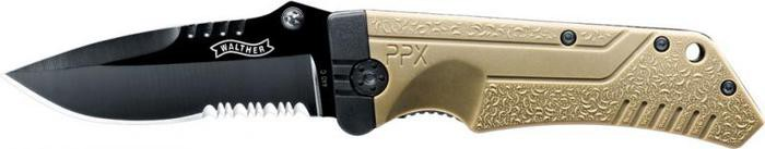 Walther PPX Knife FDE