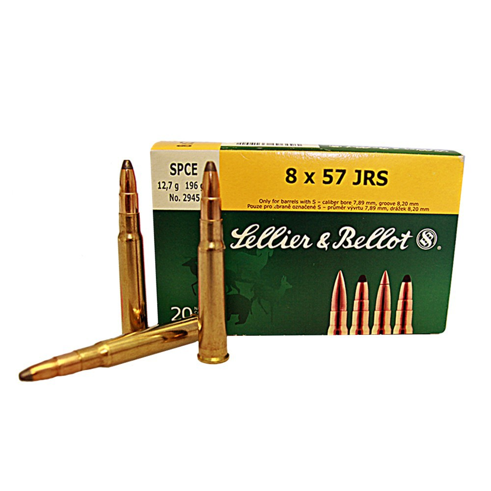 Sellier & Bellot 8x57 JRS SPCE 12,7g