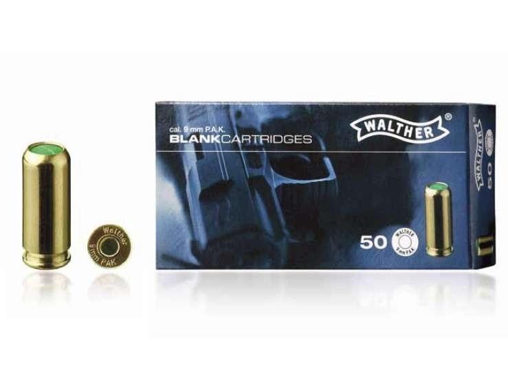 Náboj štart. Walther 9mm PA