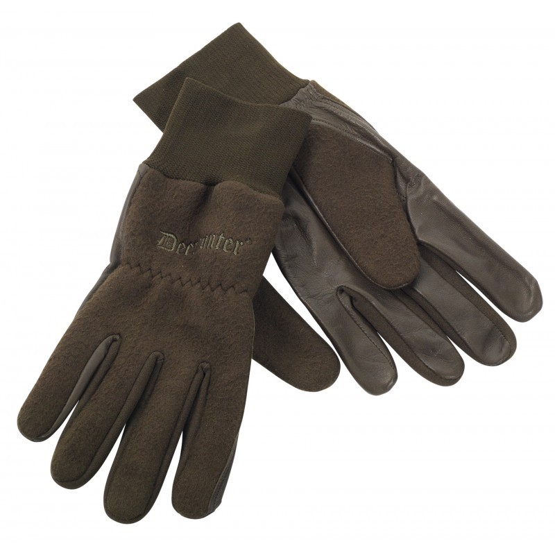 DEERHUNTER FLEECE GLOVES - FLÍSOVÉ RUKAVICE