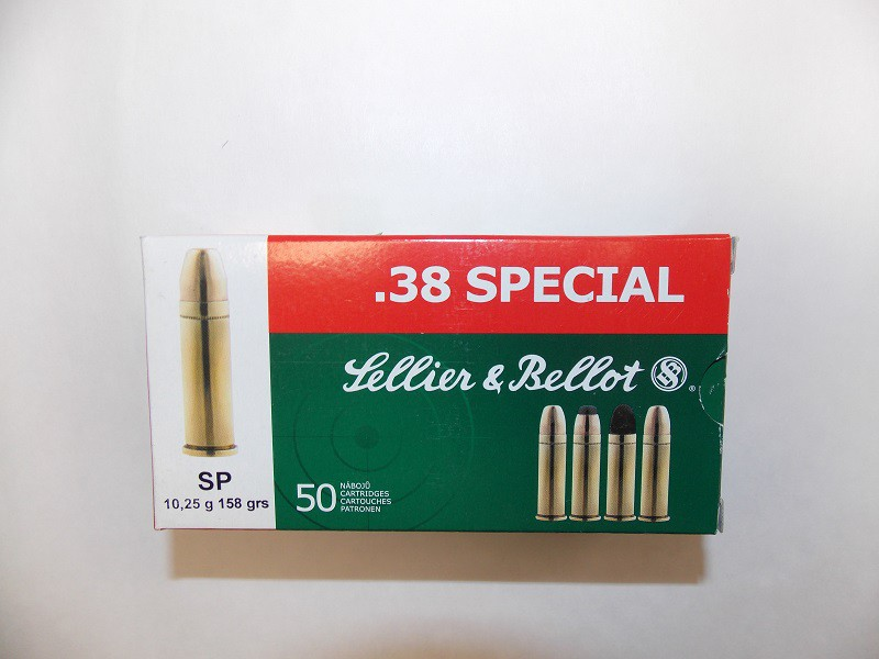 S&B .38 Spec.