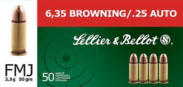 6,35 Browning S&B