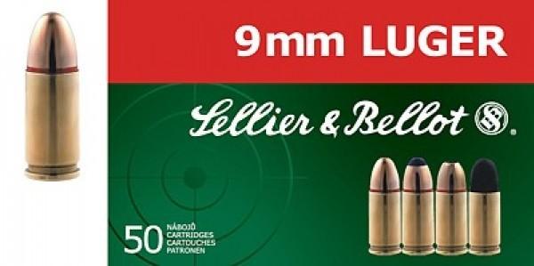 9mm Luger S&B 124gr/8g
