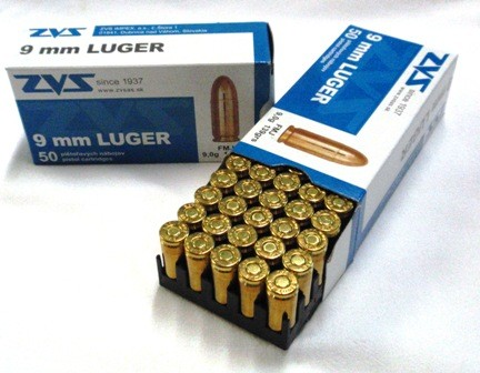 9mm Luger ZVS