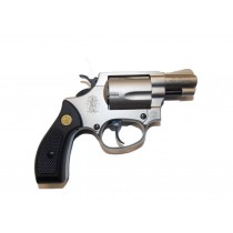 Revolver exp. S&W Chiefs Special nickel, kal. 9mm